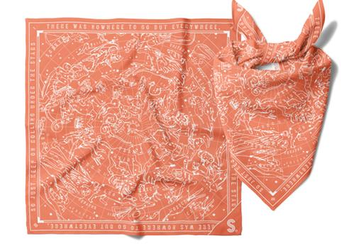 Misc. Supplies Nowhere to Go But Everywhere Road Trip Bandana Book