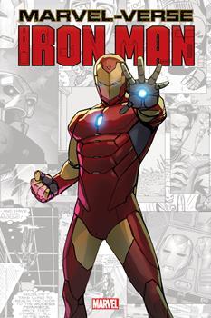 Paperback Marvel-Verse: Iron Man Book