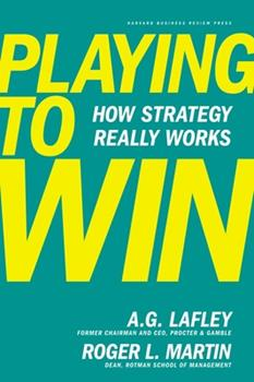 Hardcover Playing to Win: How Strategy Really Works Book