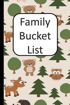 Paperback Family Bucket List Book