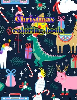 Paperback Christmas Coloring Book : An Adult Coloring Book with Fun, Easy, and Relaxing Designs Book
