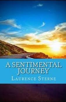 Paperback A Sentimental Journey Illustrated Book