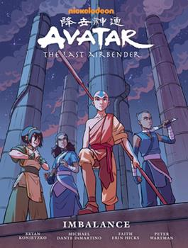 Hardcover Avatar: the Last Airbender--Imbalance Library Edition Book
