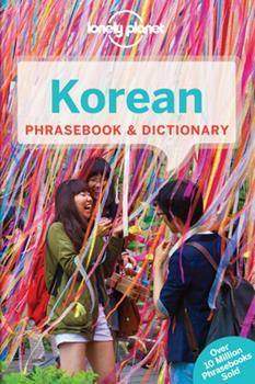 Paperback Lonely Planet Korean Phrasebook & Dictionary Book