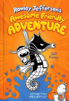 Hardcover Rowley Jefferson's Awesome Friendly Adventure Book