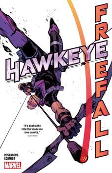 Paperback Hawkeye: Freefall Book