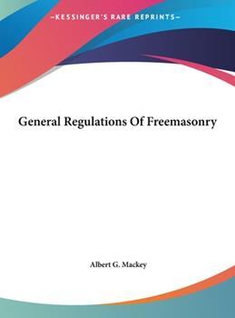 Hardcover General Regulations of Freemasonry Book