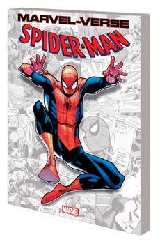 Paperback Marvel-Verse: Spider-Man Book