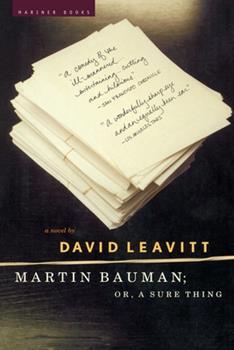 Martin Bauman: or, A Sure Thing 0618154515 Book Cover