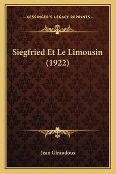 Paperback Siegfried Et Le Limousin (1922) Book
