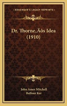 Hardcover Dr Thorne?¢S Idea Book
