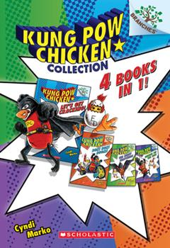 Paperback Kung Pow Chicken Collection (Books #1-4) Book