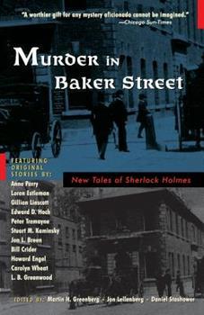 Murder in Baker Street: New Tales of Sherlock Holmes 0786710748 Book Cover
