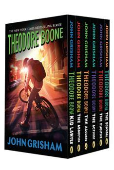 Paperback Theodore Boone 6-Book Box Set Book