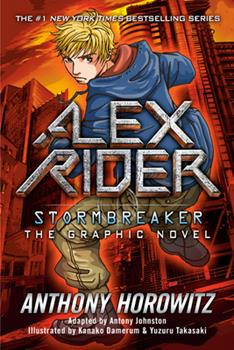 Stormbreaker: The Graphic Novel 0399246339 Book Cover