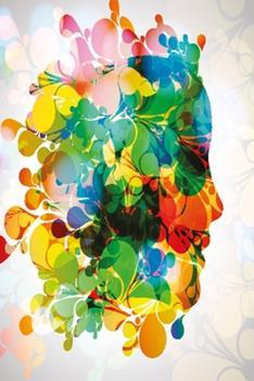 Paperback Abstrakte Frau Notizbuch: Notizbuch modernes und auff?lliges Notizbuch kariert 120 karierte Seiten Din A5 perfekt als Notizheft, Tagebuch und Jo [German] Book