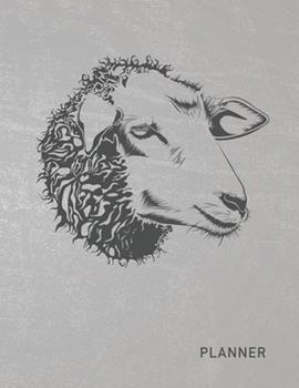 Paperback Planner : Sheep 2 Year Weekly Planning Organizer - 2020 - 2021 - January 20 - December 21 - Writing Notebook - Productive Datebook Calendar Schedule - Plan Days, Set Goals & Get Stuff Done Book