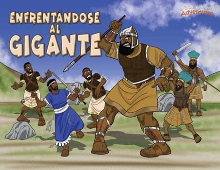 Paperback Enfrent?ndose Al Gigante : Las Aventuras de David y Goliat [Spanish] Book
