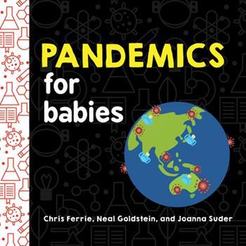 Board book Pandemics for Babies Book