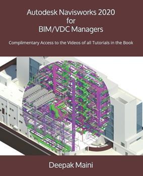 Paperback Autodesk Navisworks 2020 for BIM/VDC Managers Book