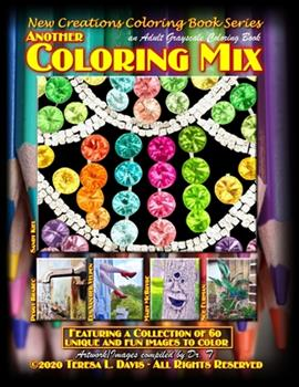 Paperback New Creations Coloring Book Series: Another Coloring Mix Book