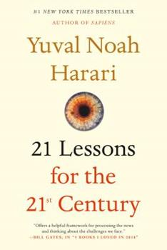 Paperback 21 Lessons for the 21st Century Book