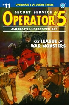Paperback Operator 5 #11: The League of War-Monsters Book