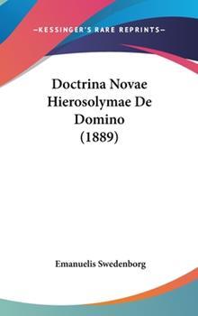 Hardcover Doctrina Novae Hierosolymae de Domino Book