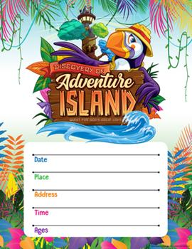 Poster Vacation Bible School (Vbs) 2021 Discovery on Adventure Island Small Promotional Poster (Pkg of 2): Quest for God's Great Light Book