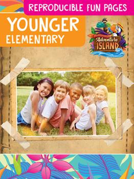 Paperback Vacation Bible School (Vbs) 2021 Discovery on Adventure Island Younger Elementary Reproducible Fun Pages (Grades Preschool - 2nd): Quest for God's Gre Book
