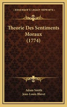 Hardcover Theorie des Sentiments Moraux Book