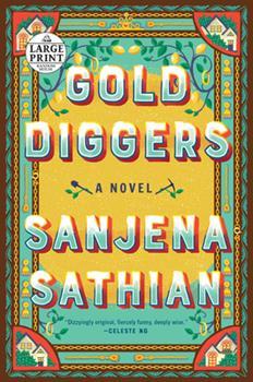 Paperback Gold Diggers [Large Print] Book