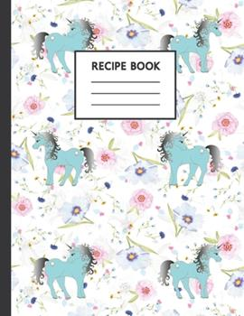Paperback Recipe Book : Cute Cookbook to Use at Home or for School Cooking Classes Book