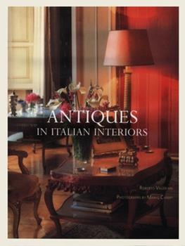 Hardcover Antiques in Italian Interiors Volume 1 Book