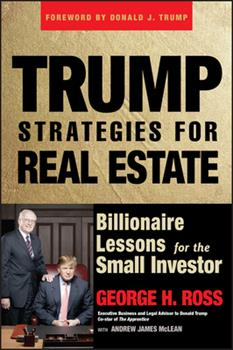 Trump Strategies for Real Estate: Billionaire Lessons for the Small Investor 0471774340 Book Cover