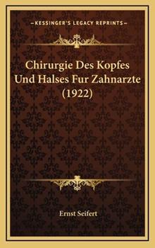 Hardcover Chirurgie des Kopfes und Halses Fur Zahnarzte Book
