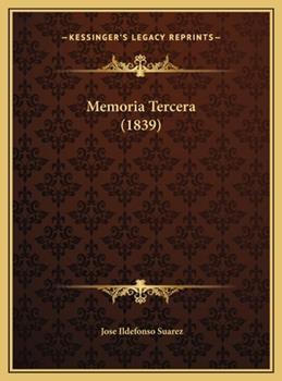 Hardcover Memoria Tercera Book