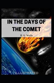 Paperback In the Days of the Comet Illustrated Book