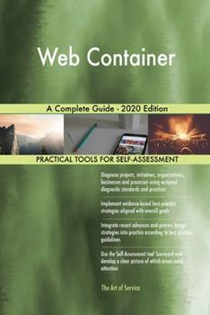 Paperback Web Container a Complete Guide - 2020 Edition Book