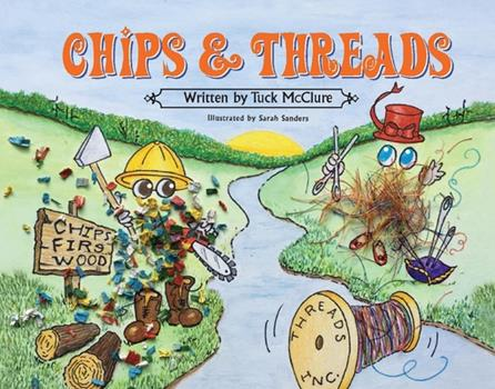 Hardcover Chips & Threads Book