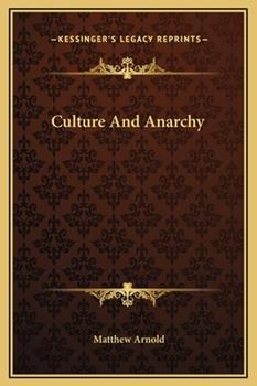 Hardcover Culture and Anarchy Book