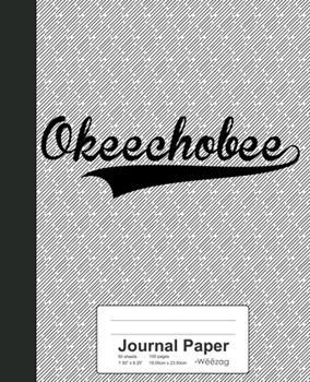 Paperback Journal Paper : OKEECHOBEE Notebook Book