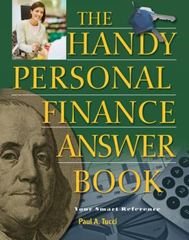 Paperback The Handy Personal Finance Answer Book