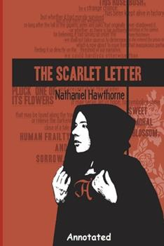 """Paperback The Scarlet Letter """"Annotated"""" Book"""