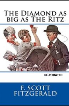 Paperback The Diamond as Big as the Ritz Illustrated Book