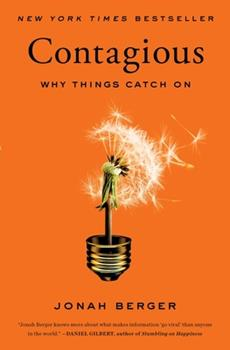 Paperback Contagious: Why Things Catch on Book