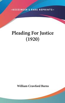 Hardcover Pleading for Justice Book
