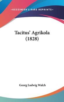 Hardcover Tacitus' Agrikola Book