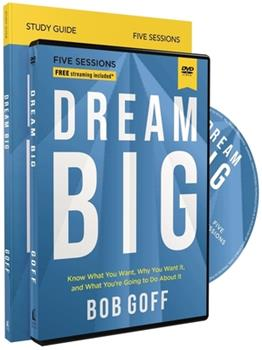 Dream Big Study Guide with DVD 0310121361 Book Cover