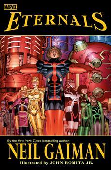 Hardcover Eternals by Neil Gaiman & John Romita Jr. Book